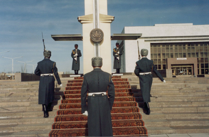 Honor Guard - Bishkek, Kyrgyzstan.