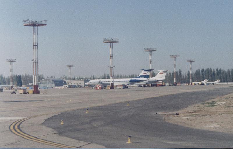 Manas International Airport - Bishkek, Kyrgyzstan.