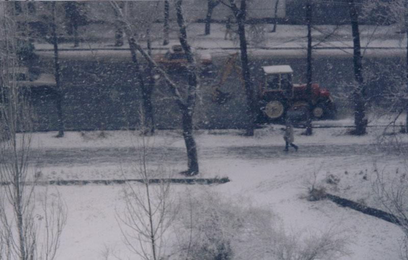 Winter in Bishkek - Bishkek, Kyrgyzstan.