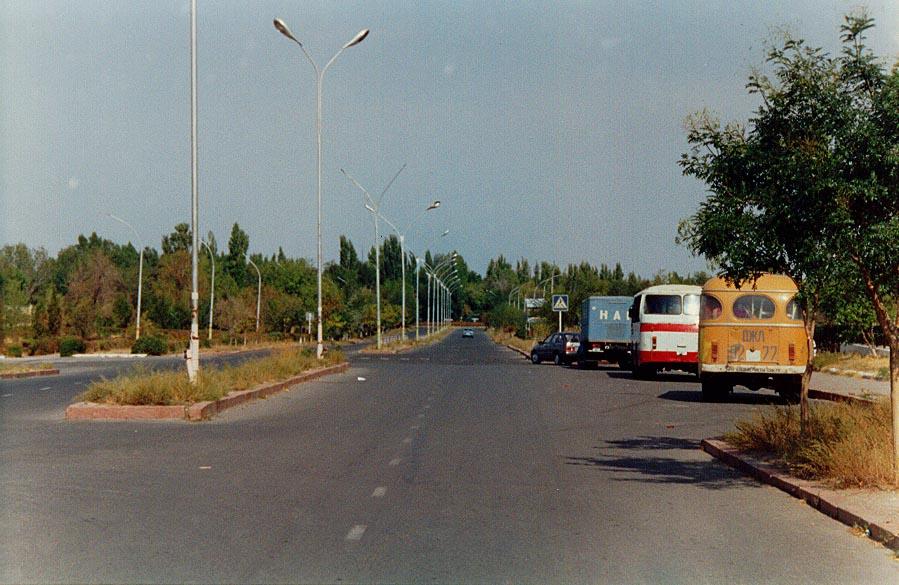 Late 1990s road in Karatau