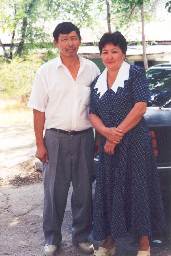 Asan and Adigul Orazimbetov - My Kazakh Host Parents