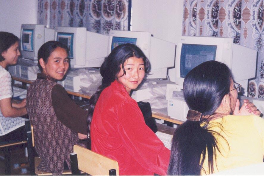 My Computer Programming Students at the Karatau Lyceum (Karatau, Kazakhstan)