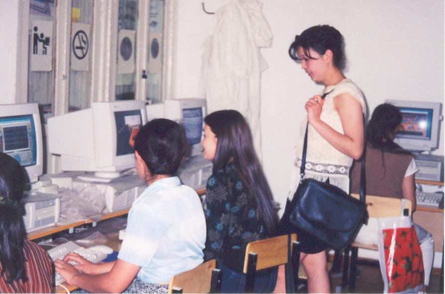 Other computer students at the Karatau Lyceum (Karatau, Kazakhstan)