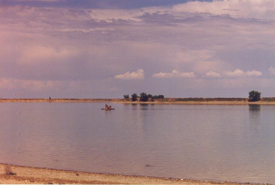 Zhartas Lake outside of Karatau, Kazakhstan