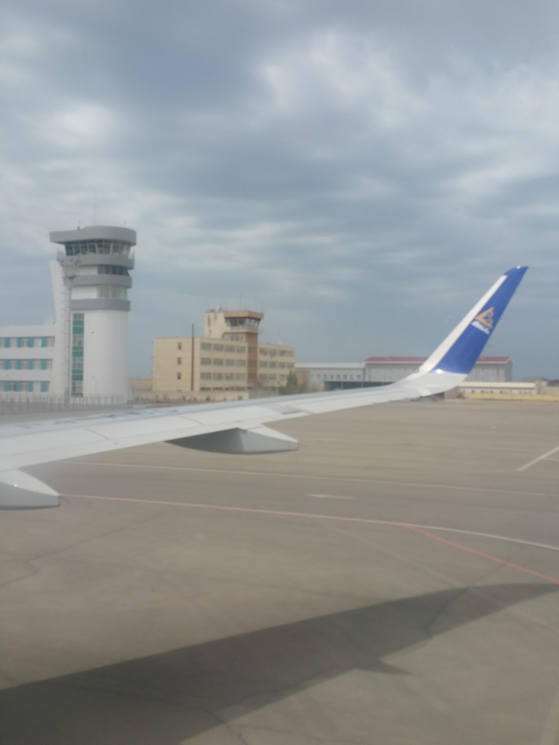 Aktau International Airport, Aktau, Kazakhstan (May, 2015)
