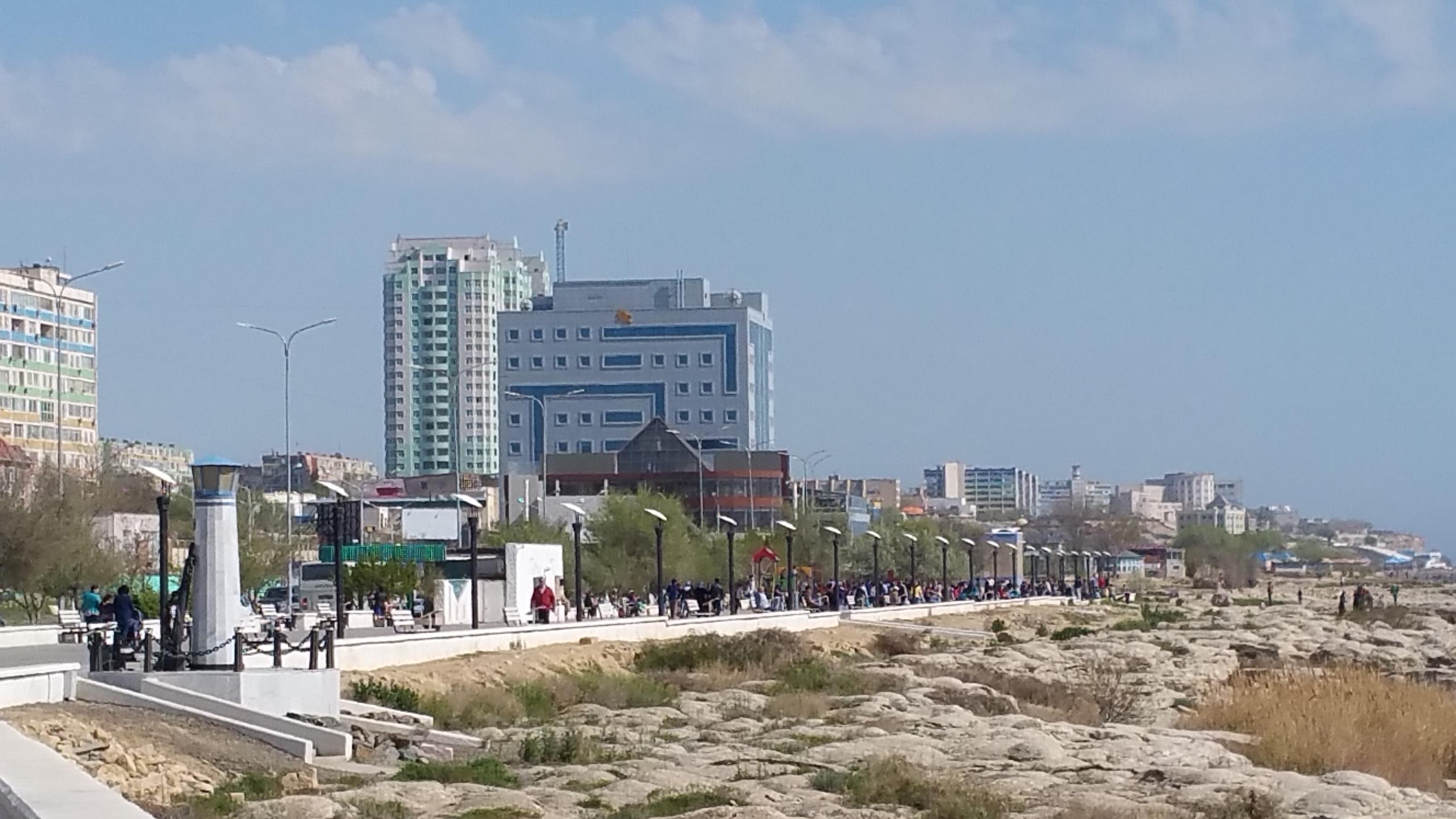 Aktau, Kazakhstan (May, 2015)