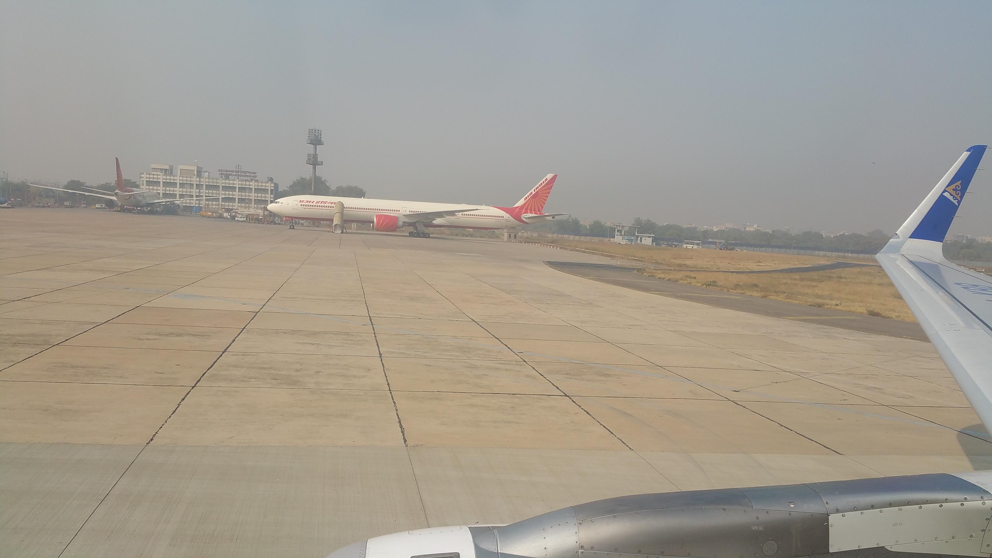 Air Astana in New Dehli, India.