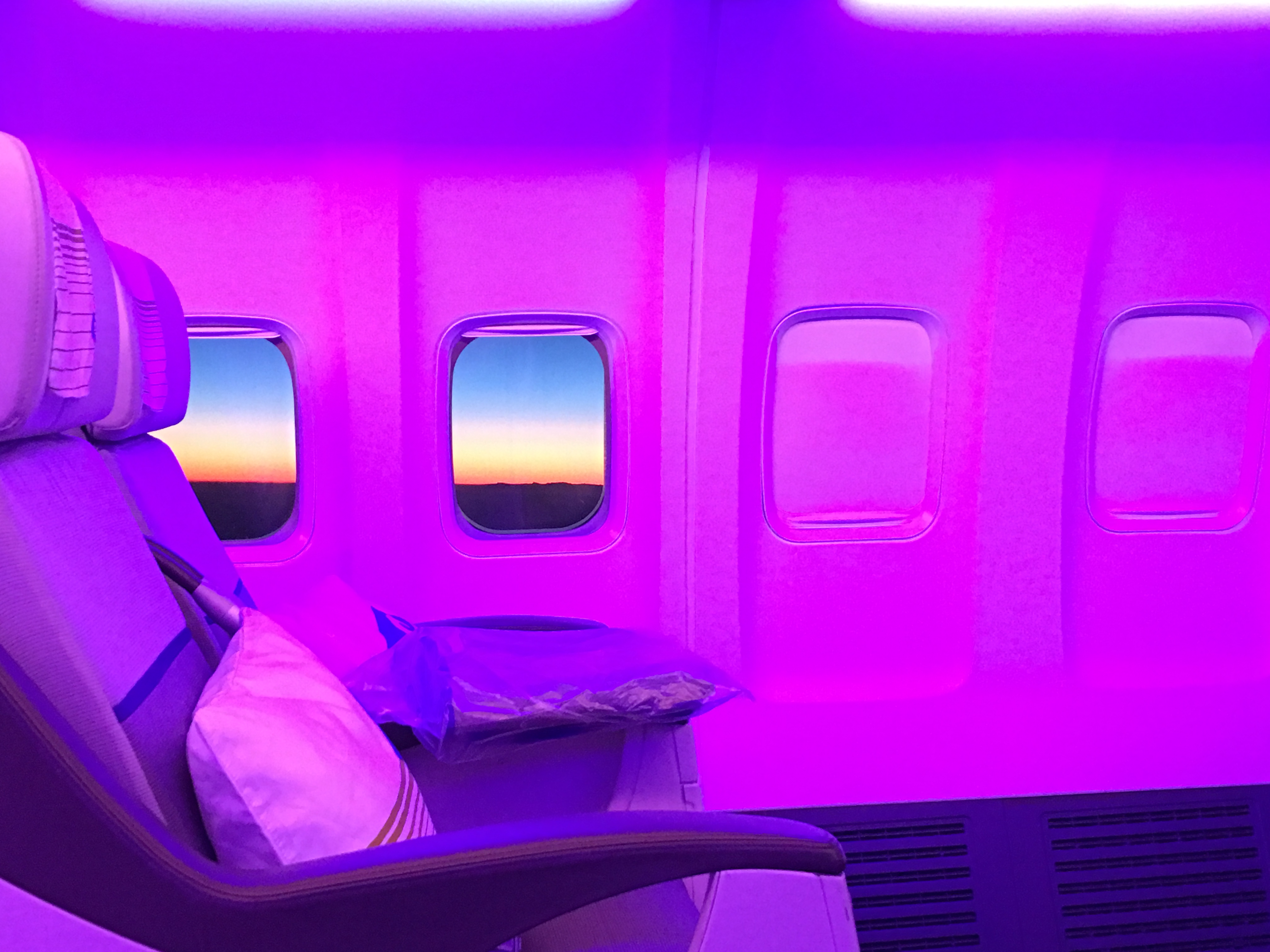 Air Astana Cabin