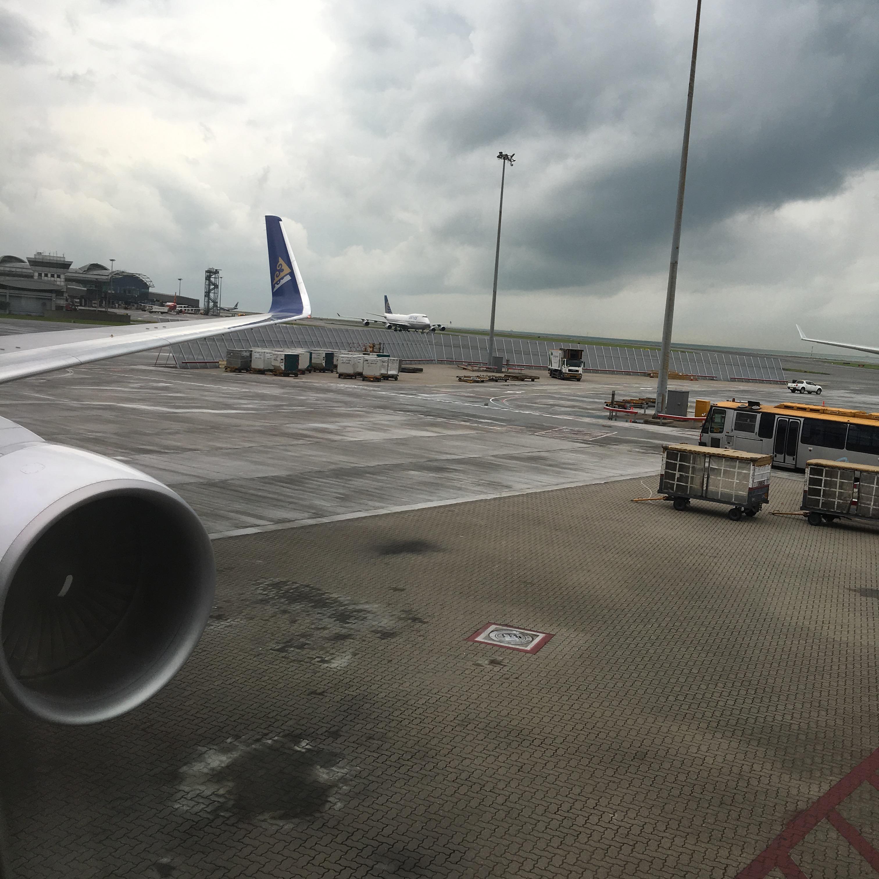 My last flight on Air Astana