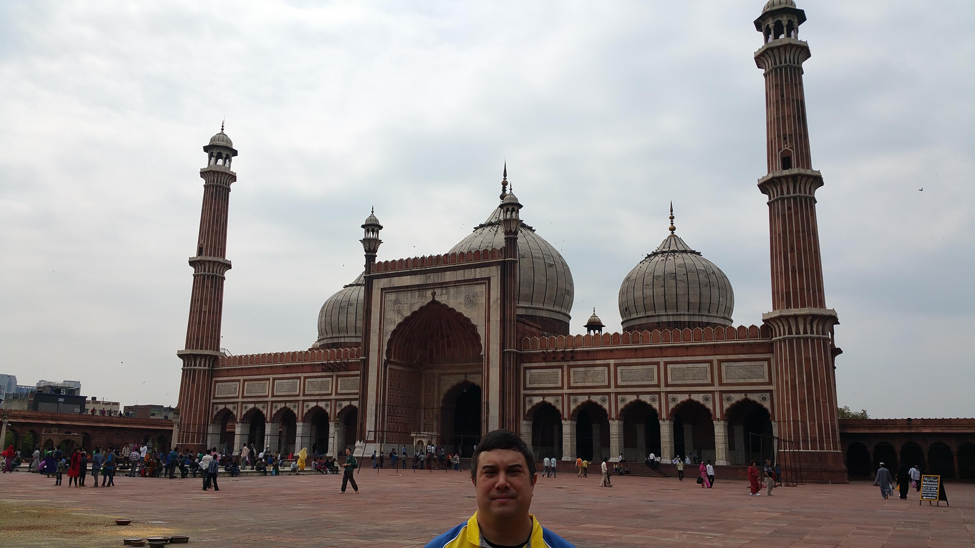 Jama Masjid, New Dehli, India.