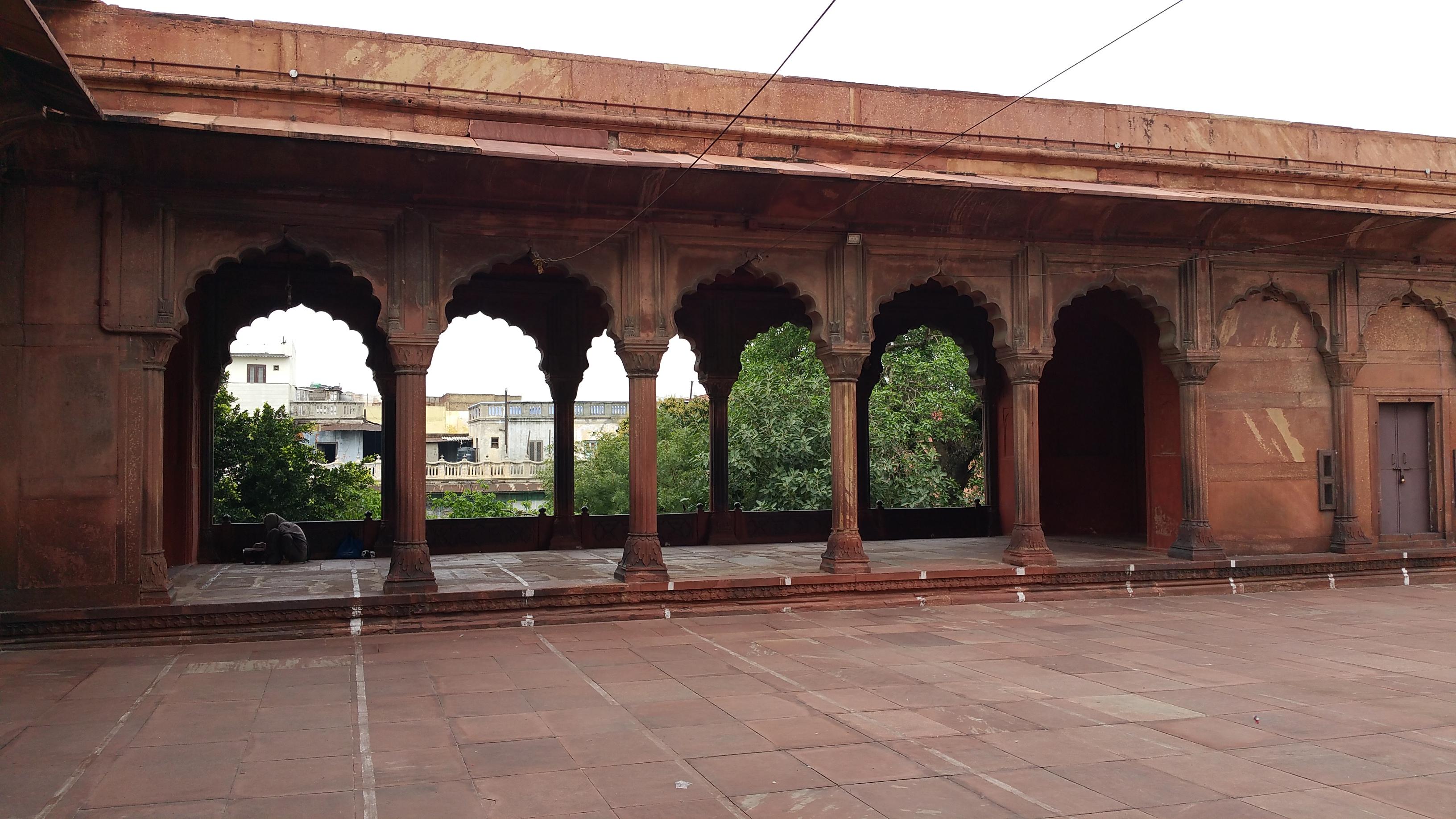 Jama Masid, New Dehli, India.