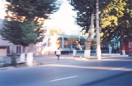 Passing through Andijan, Uzbekistan, in Autumn, 1999.