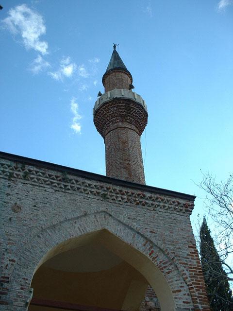 Minaret Suleymaniye Camii - Alanya, Turkey.