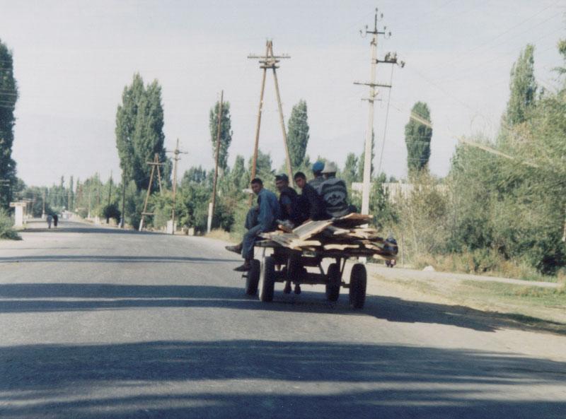 Kyrgyz Mercedes - Talas, Kyrgyzstan.