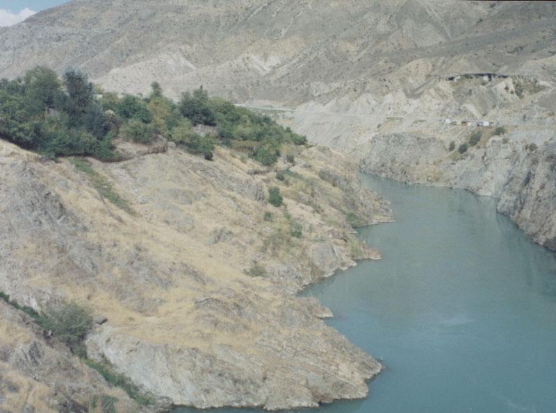 Naryn River - Tash-Komur, Kyrgyzstan.