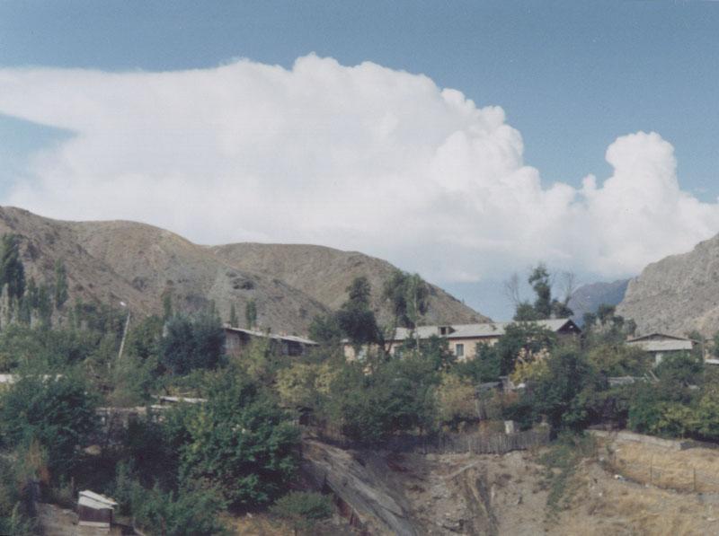 Tash-Komur, Kyrgyzstan.
