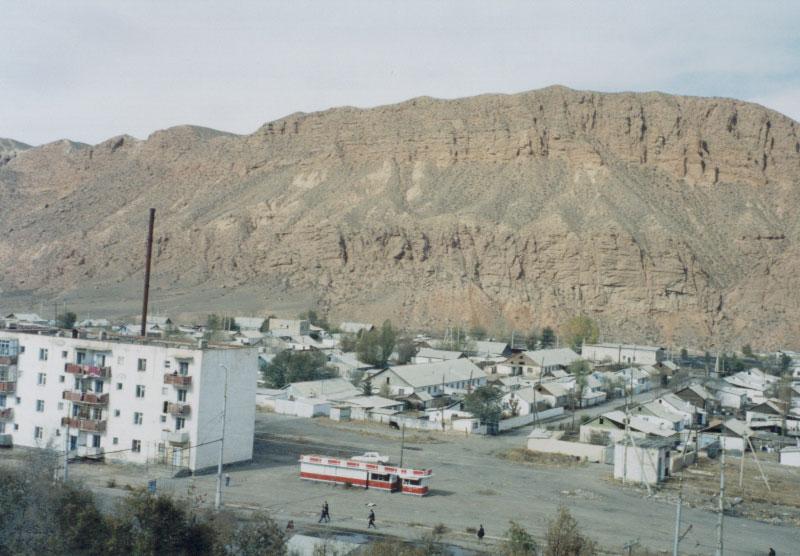 Naryn Mosque - Naryn, Kyrgyzstan.