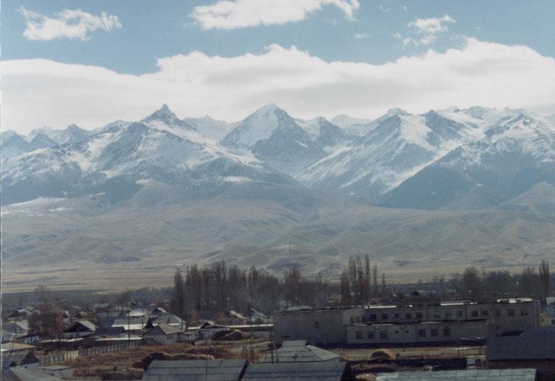 At-Bashy, Kyrgyzstan.