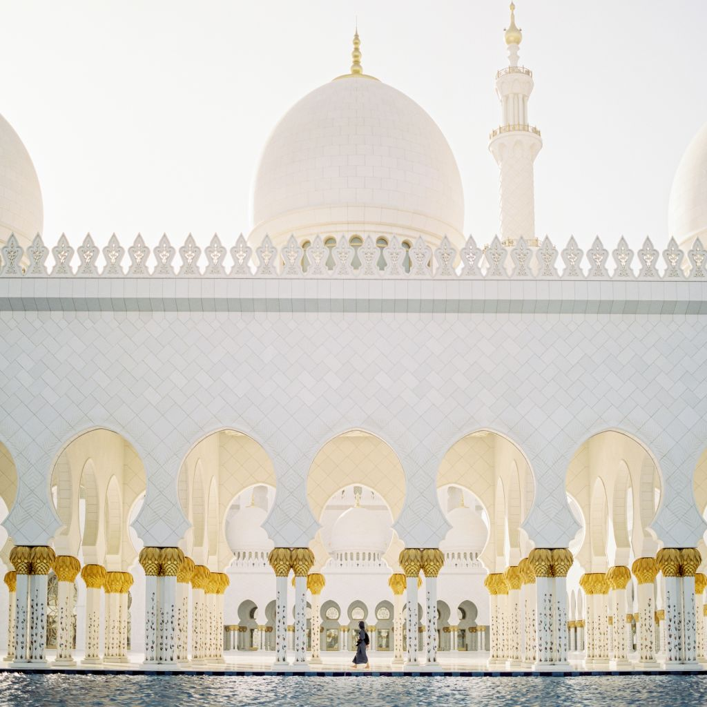 Sheikh Zayed Grand Mosque Center, Abu Dhabi, United Arab Emirates