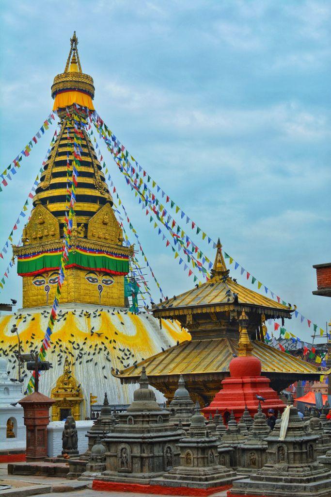 Swoyambhunath Stupa, Kathmandu, Nepal