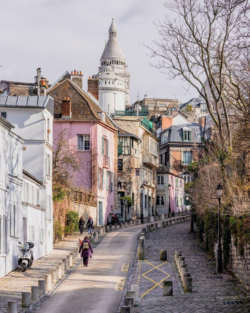 Rue de l'Abreuvoir, Paris, France