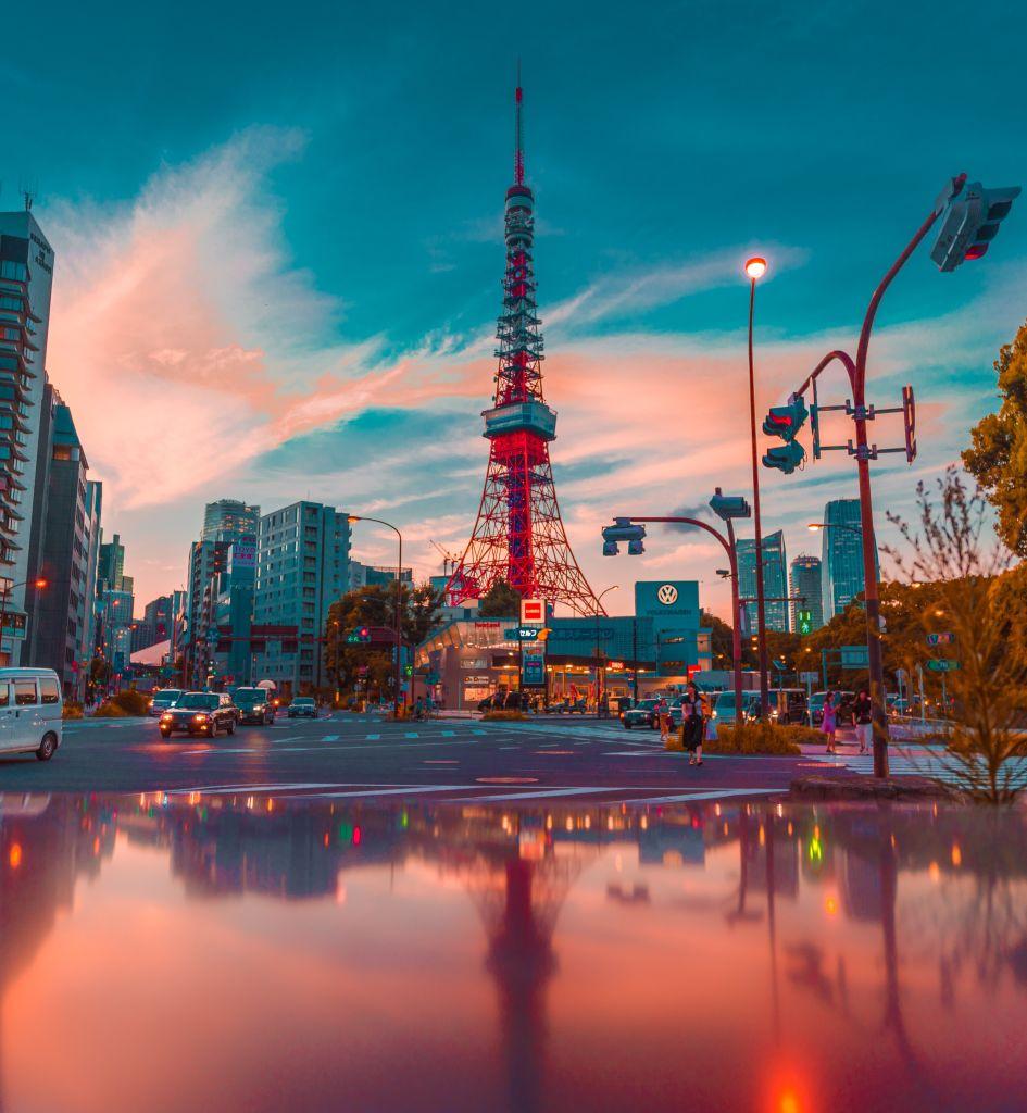 Tokyo Tower, Minato-ku, Japan