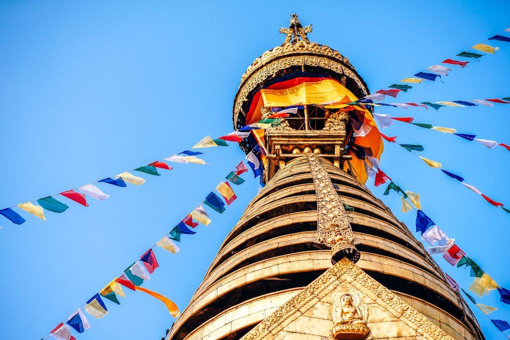 Swayambhu Maha Chaitya, Kathmandu, Nepal Swayambhu Maha Chaitya, Kathmandu, Nepal