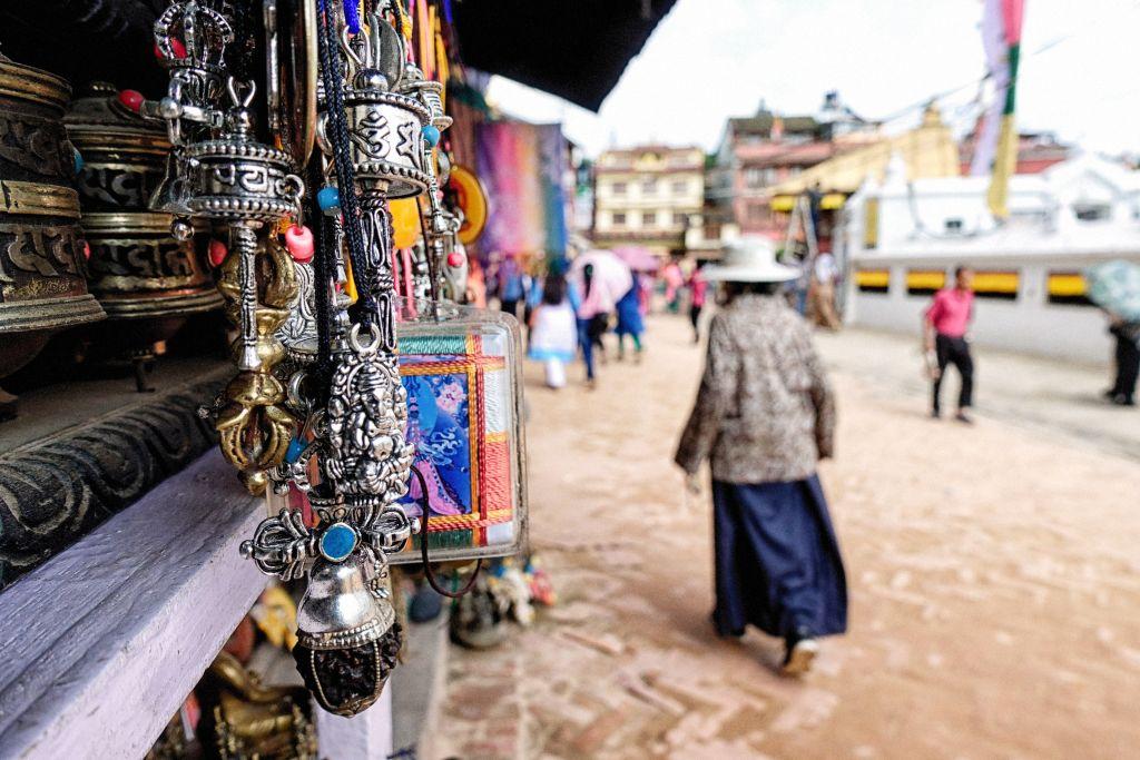 Boudhanath Sadak, Kathmandu, Nepal
