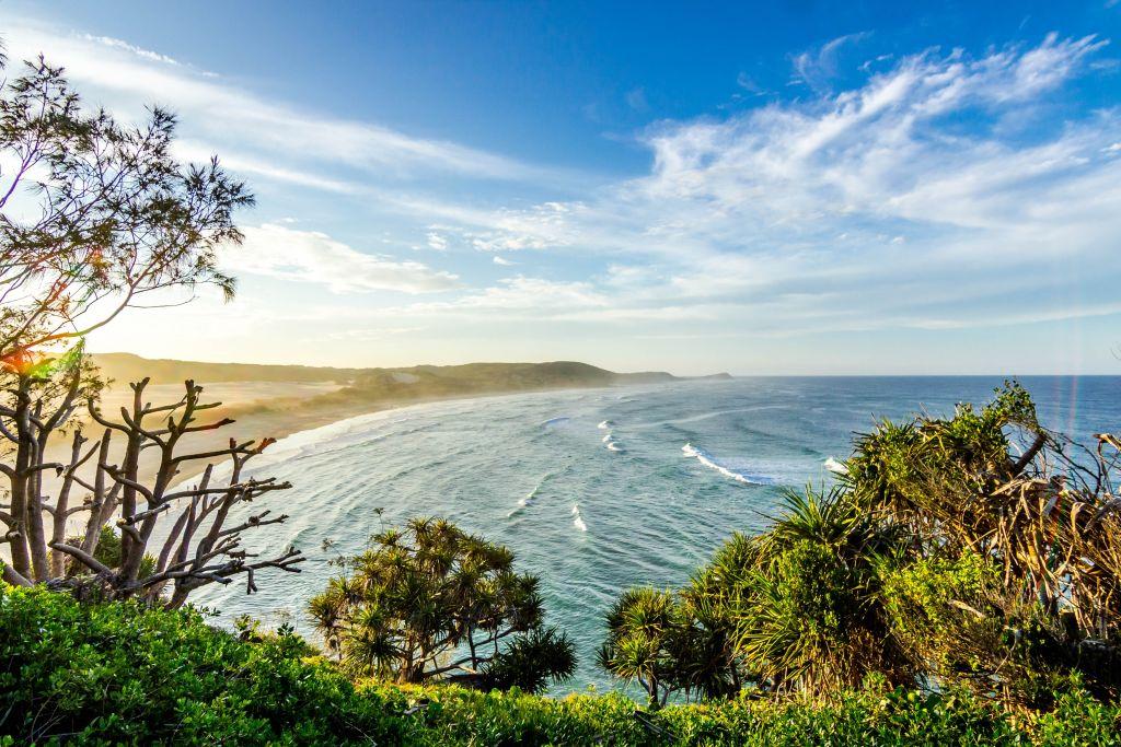 Fraser Island south beach, Australia