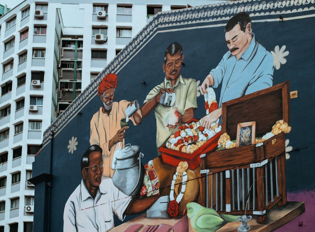 singapore street art mural