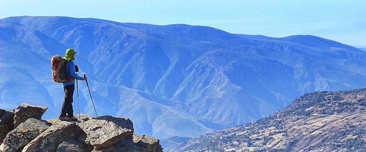 Walking and hiking in the superb Alpujarras, Andalucia