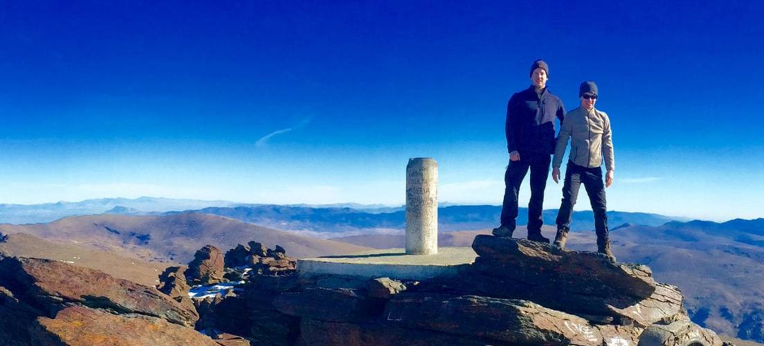 Mulhacen Summit, Los Tres Picos