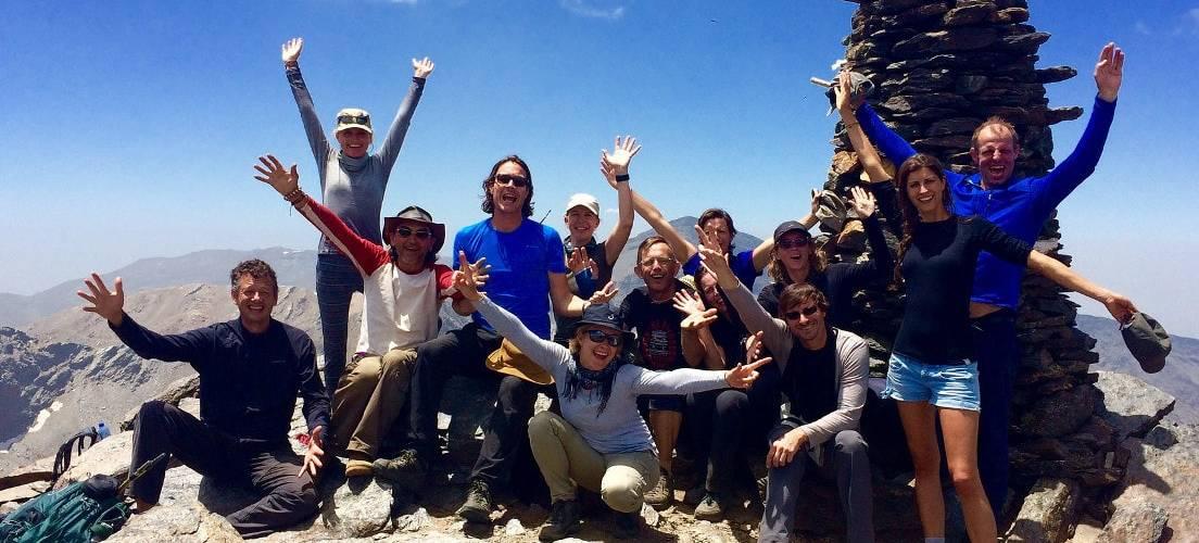 Los Tres Picos Challenge, Summit of Alcazaba