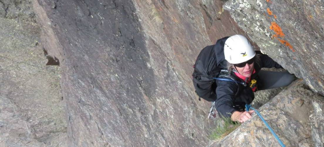 Rock Climbing Sierra Nevada National Park Spain