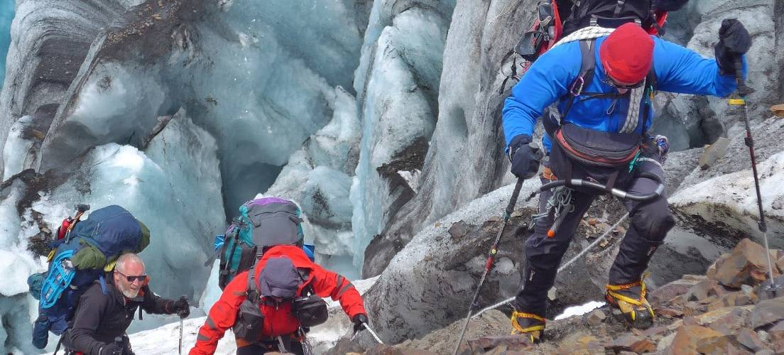 Ascent to the Patagonia Icefields