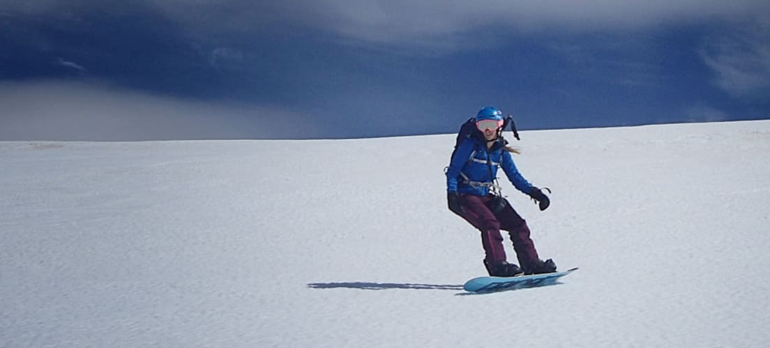 High in the Sierra Nevada ski resort