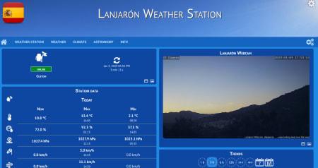 Lanjaron Weather station
