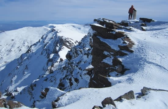 Climbing Mulhacen in the Sierra Nevada