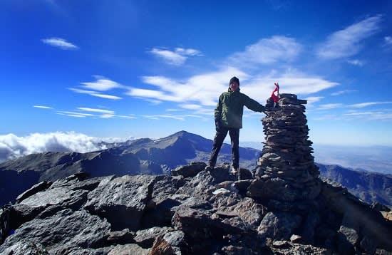 Los Tres Picos, Mulhacen, Veleta, Alcazaba