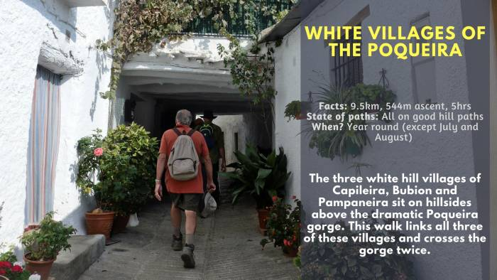 White Villages Poqueira
