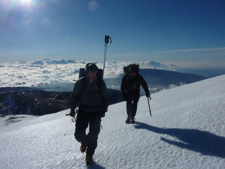 Nearing the summit of Cerrillo Redondo