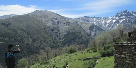 Views from the Vereda de Estrella at Cortijos Hornillos