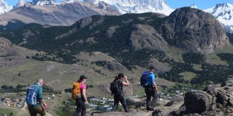 Spectacular trekking around the Cerro Torre and Fitzroy ranges
