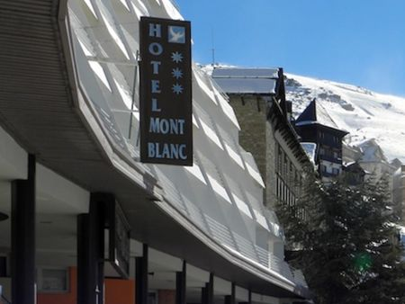 The main ski town at Pradollano