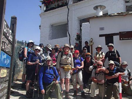 Hiking in the beautiful Alpujarras