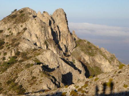 Superb Ultra Trail terrain near Granada