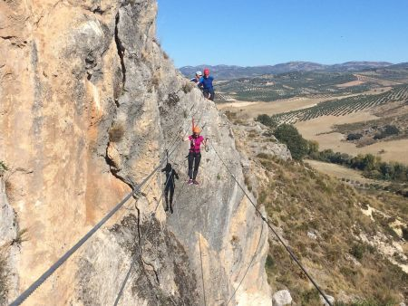 Moclin Provides a Good Via Ferrata for First Timers