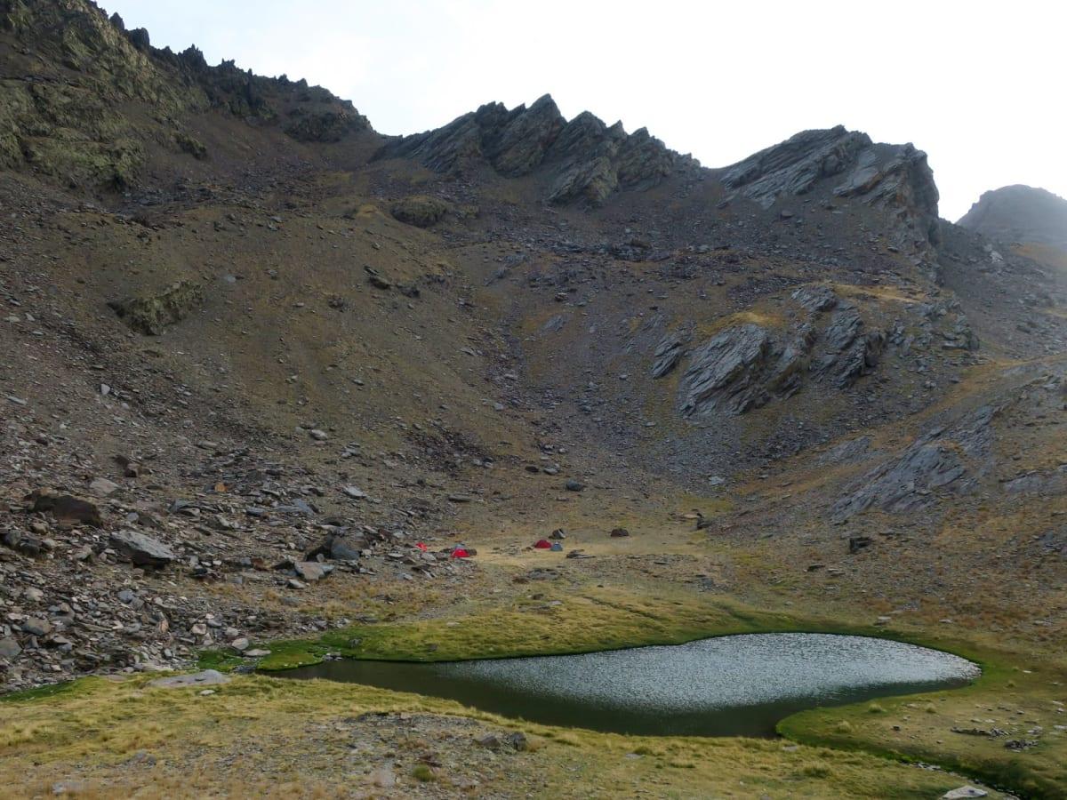 Campsite Laguna Galbata