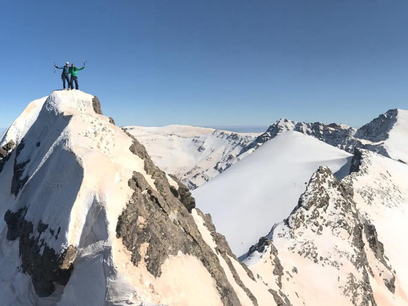 Altitude Related Problems in Spain's Sierra Nevada