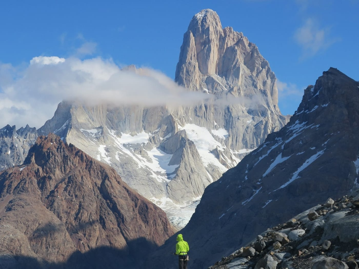 Trekking routes around the magnificent Mt Fitzroy